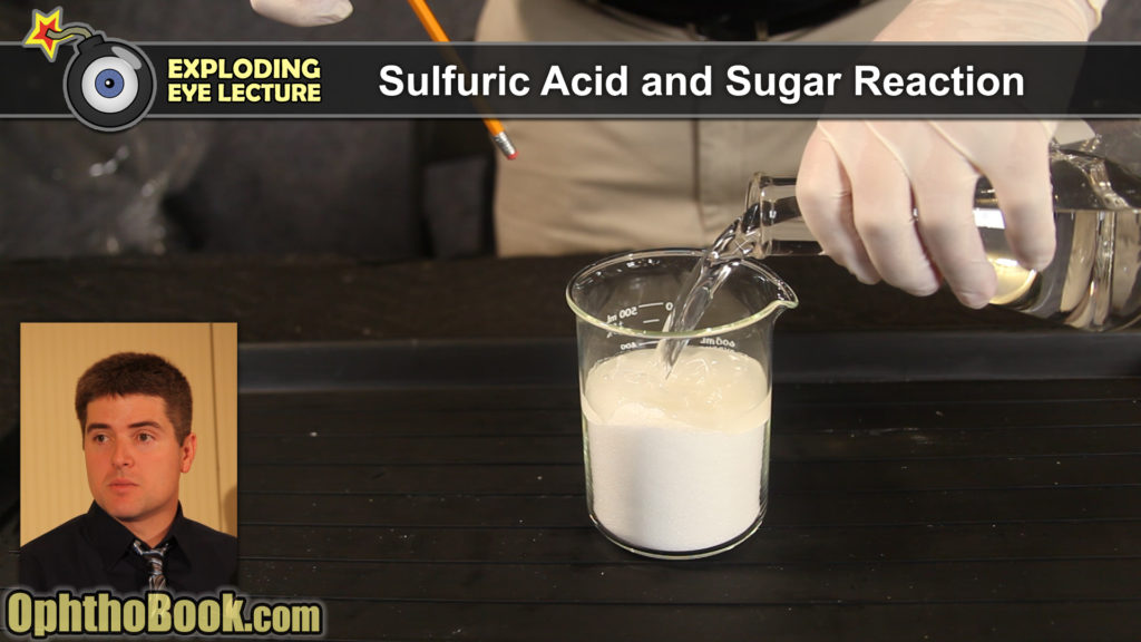 Sulfuric Acid and Sugar Reaction