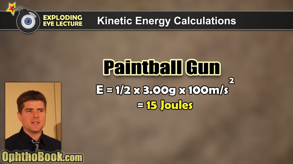 Paintball Gun Energy