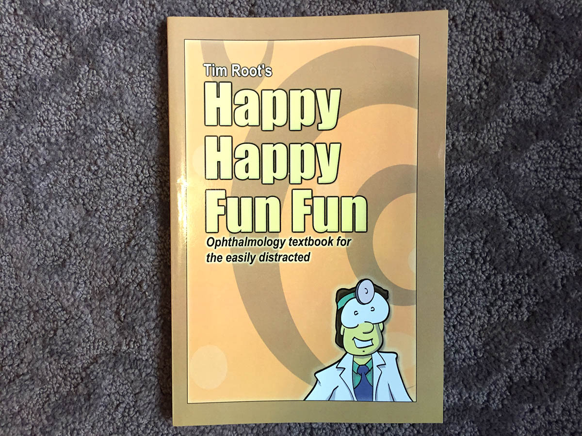 The original happy ophthalmology book