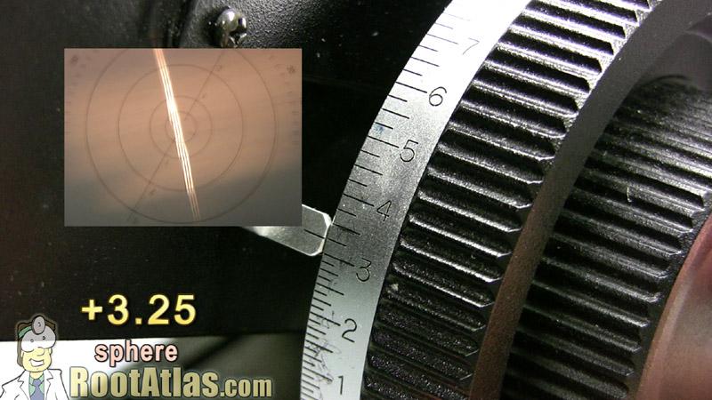 Lensometer Dial