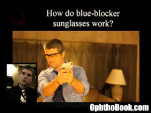 How do blue-blocker glasses work